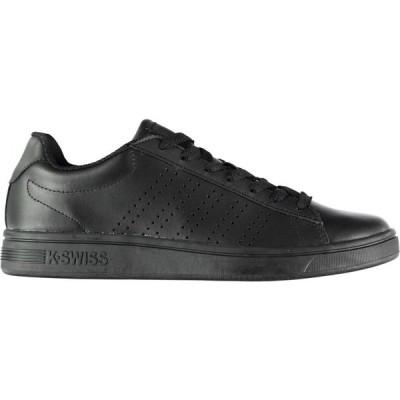 ケースイス K Swiss メンズ スニーカー シューズ・靴 court casper trainers Black Mono