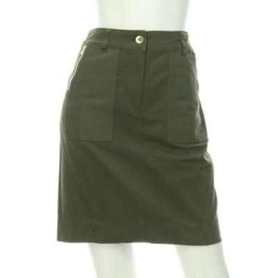アイシービー ICB スカート サイズS レディース 美品 グリーン系 台形スカート【中古】20201222