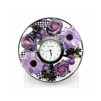 Dreamlight ドリームクロックUFOミニ 時計セット(台付き)ファッションフラワー CDD7279CL