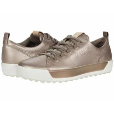 ECCO Golf エコー ゴルフ レディース 女性用 シューズ 靴 スニーカー 運動靴 Soft II Hydromax(R) Warm Grey Cow Leather【送料無料】