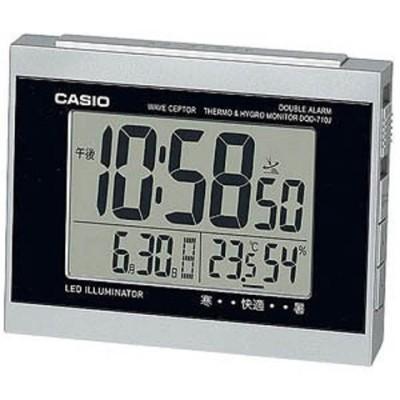 CASIO 目覚まし時計 DQD‐710J‐8JF (シルバー)