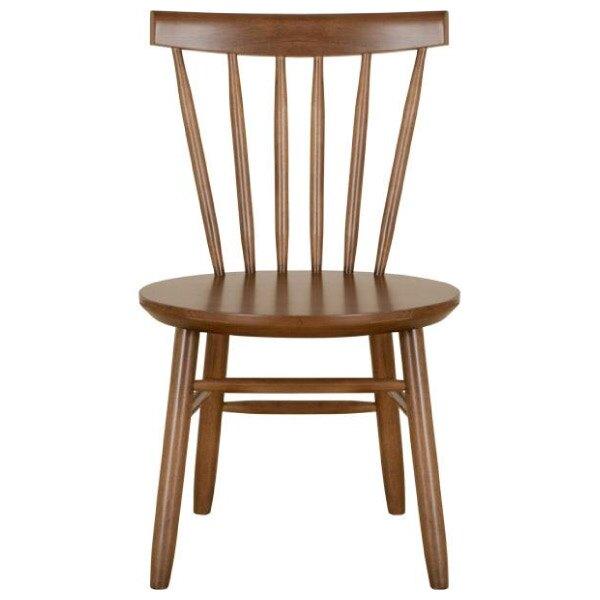 ◎實木餐椅 NUTS 橡膠木 NITORI宜得利家居