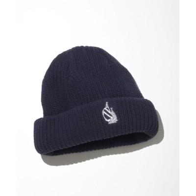 """FREAK'S STORE / NAUTICA/ノーティカ Cotton Roll Knit Cap """"Yacht""""/コットンロールニットキャップ""""ヨット"""" MEN 帽子 > ニットキャップ/ビーニー"""