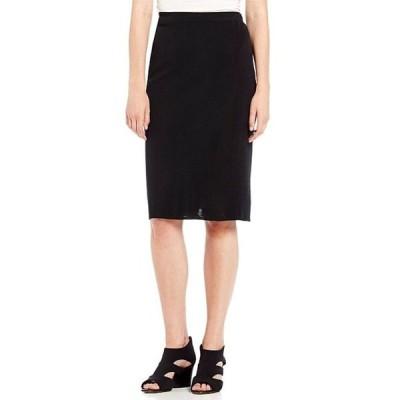 ミンウォン レディース スカート ボトムス Straight Washable Skirt