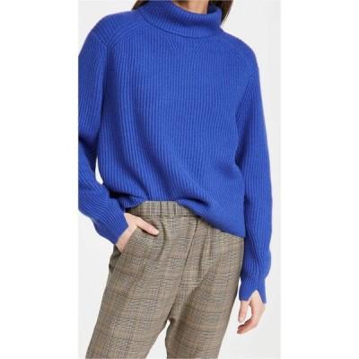 ラグ&ボーン Rag & Bone レディース ニット・セーター トップス Pierce Cashmere T Neck Sweater Cobalt