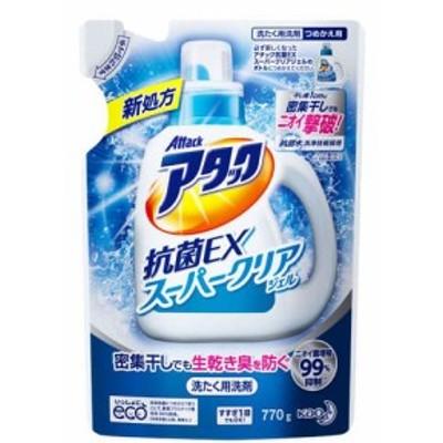 花王 アタック 抗菌EX スーパークリアジェル 詰替 770g
