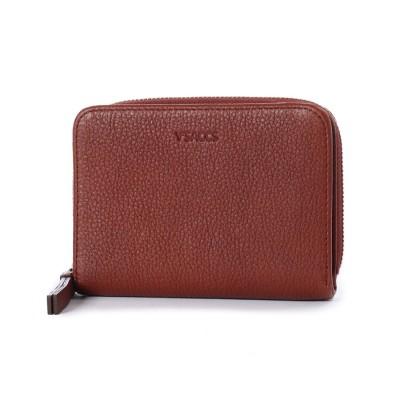 イザック YSACCS 二つ折り財布 (ブラウン)
