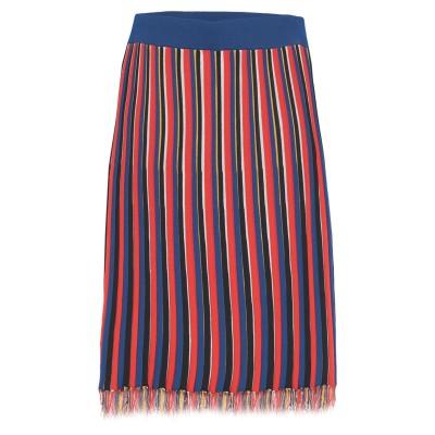 ピンコ PINKO ひざ丈スカート レッド XS レーヨン 65% / ナイロン 35% ひざ丈スカート