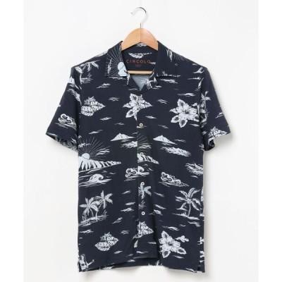 シャツ ブラウス CIRCOLO 1901 / オープンカラープリントシャツ