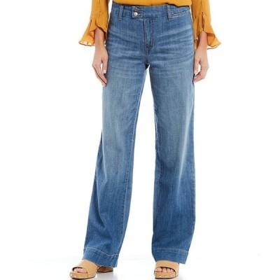 コード ブルー レディース デニムパンツ ボトムス Wide Leg Trouser Jeans
