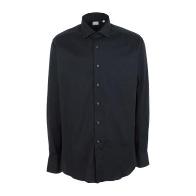 XACUS シャツ ブラック 38 コットン 96% / ポリウレタン 4% シャツ