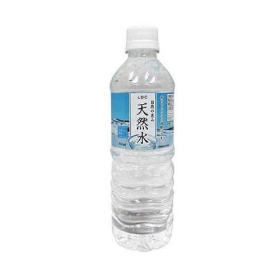 LDC 自然の恵み 天然水 500mlペットボトル×24本入