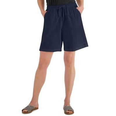 ケレンスコット カジュアルパンツ ボトムス レディース Lila Shorts, Created for Macy's Intrepid Blue