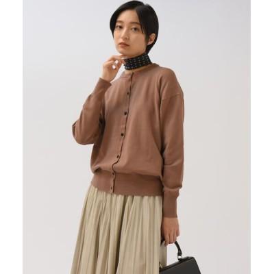 MAYSON GREY/メイソングレイ 【雑誌掲載】クルーカーデアンサンブル キャメル S