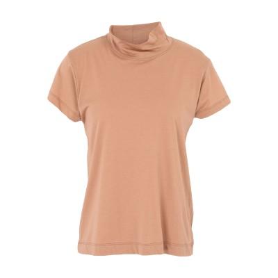 アリジ ALYSI T シャツ キャメル 44 レーヨン 50% / コットン 50% T シャツ