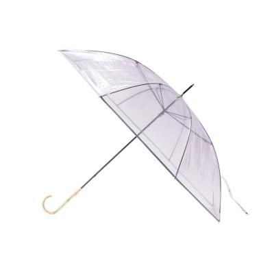 AG by aquagirl(エージー バイ アクアガール) バンブーハンドルビニール傘(長傘)