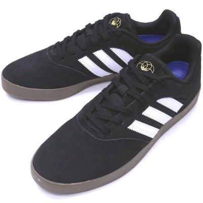 "【24.5cm/6.5"" シューズ スケートボード アディダス】Adidas Suciu ADV 2 Black/White/Gum"