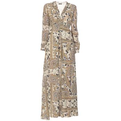 ツインセット シモーナ バルビエリ TWINSET ロングワンピース&ドレス ベージュ 42 100% レーヨン ロングワンピース&ドレス