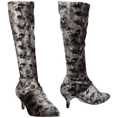 STIÙ ブーツ グレー 38 紡績繊維 ブーツ