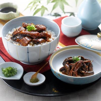 [愛知・うなぎ割烹一愼]うな丼セット 干物・漬魚・うなぎ・魚卵