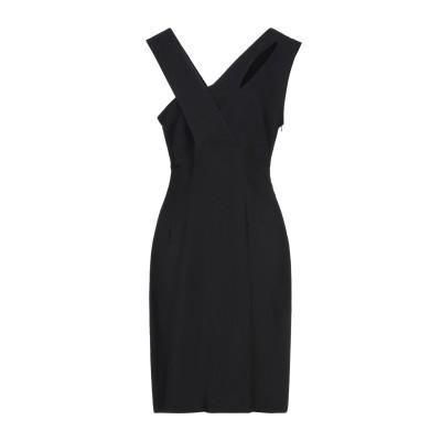 ゴータ GOTHA ミニワンピース&ドレス ブラック 2 レーヨン 96% / ポリウレタン 4% ミニワンピース&ドレス