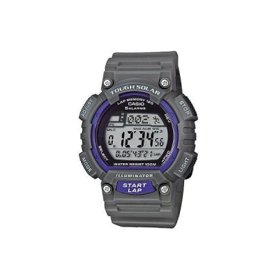 腕時計 カシオ Casio ソーラー 腕時計 World Time クロノグラフ 100 Meter WR 5 アラーム STLS100H-8AV
