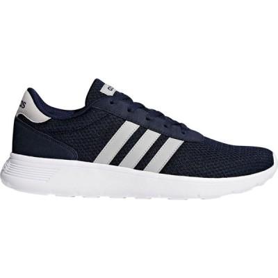 アディダス adidas メンズ スニーカー シューズ・靴 lite racer trainers Navy/White