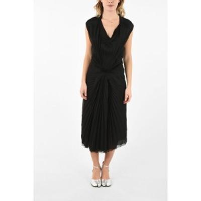 MAISON MARGIELA/メゾン マルジェラ Black レディース MM0 Pleated Halter Dress dk
