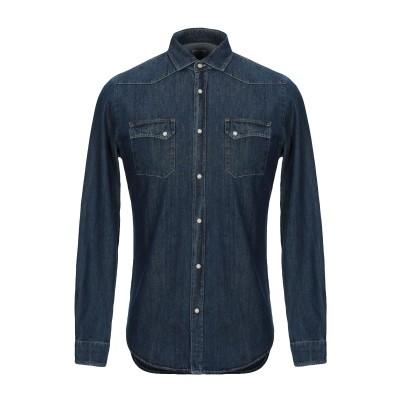 BORSA デニムシャツ ブルー 39 コットン 100% デニムシャツ