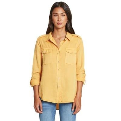 レディース 衣類 トップス Dear John Denim Inc. Womens Dear John Allison Canary Shirt XL Yellow ブラウス&シャツ