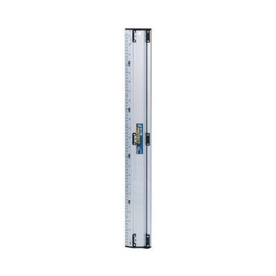 シンワ測定 アルミカッター定規 カット師PROTECT70cm 併用目盛   65065