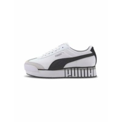プーマ レディース スニーカー シューズ Puma Roma Amor Logo sneakers in white White