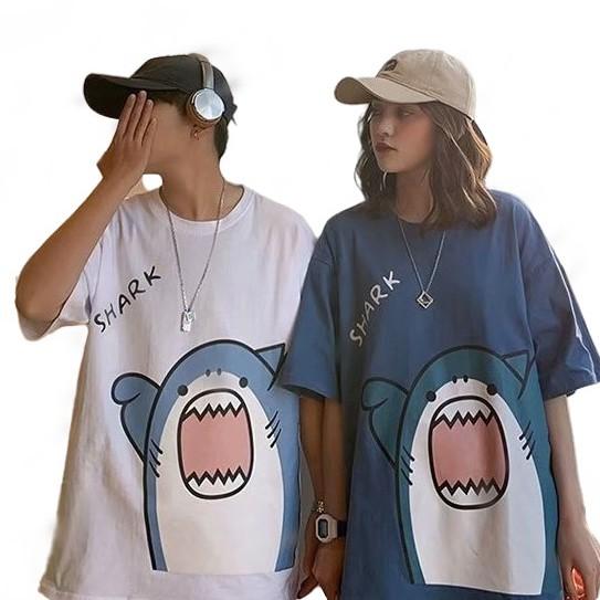 【M世代】潮流 日系 短袖T恤 男生 寬鬆 嘻哈 情侶 五分袖 男t 短T男女衣著
