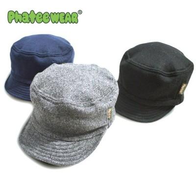 Phatee ファッティー HALF CAP MELTON