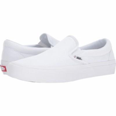ヴァンズ Vans レディース スリッポン・フラット シューズ・靴 Slip-On Pro White/White