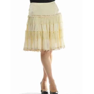 【送料無料】エルマンノシェルビーノ【ERMANNO SCERVINO】ひざ丈スカート【レディー(D82C518 RL)
