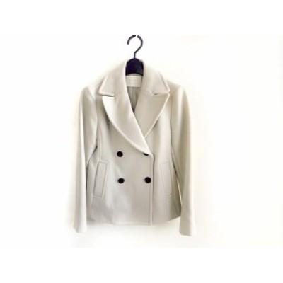 ボールジー BALLSEY コート サイズ38 M レディース 美品 ライトグレー 冬物【中古】20201020