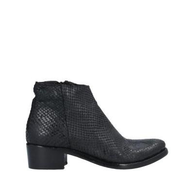 MICHELEDILOCO ショートブーツ  レディースファッション  レディースシューズ  ブーツ  その他ブーツ ブラック