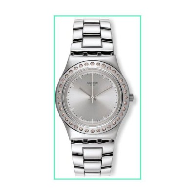 Swatch Irony Pure Powder Silver Dial Stainless Steel Ladies Watch YLS172G並行輸入品