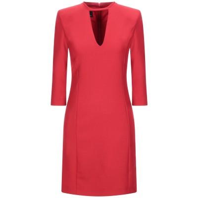 ピンコ PINKO ミニワンピース&ドレス レッド 40 ポリエステル 53% / ウール 44% / ポリウレタン 3% ミニワンピース&ドレス