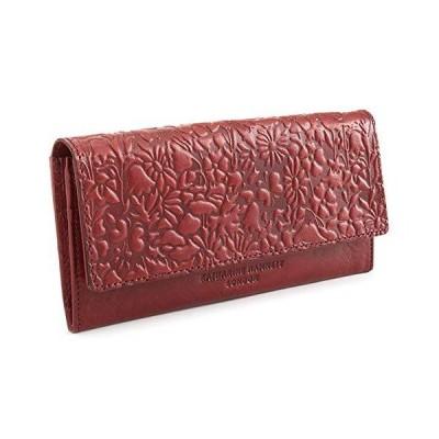 キャサリンハムネット 財布 長財布 ワイン KATHARINE HAMNETT LONDON khp403-80 レディース 婦人