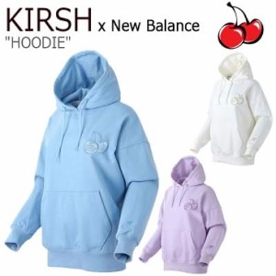 キルシー パーカ KIRSH NB X KIRSH HOODIE ニューバランス X キルシー フーディー アイボリー ブルー パープル NBN0A2N012 ウェア