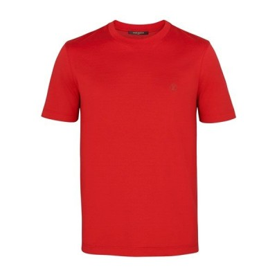 LOUIS VUITTON【ルイヴィトン】メンズT-SHIRT CLASSICATシャツ【rouge vif 】【送料無料】【正規品】