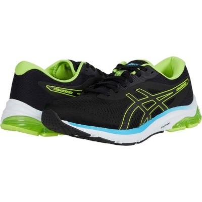 アシックス ASICS メンズ ランニング・ウォーキング シューズ・靴 GEL-Pulse 12 Black/Hazard Green