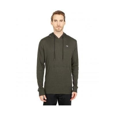 Salty Crew メンズ 男性用 ファッション パーカー スウェット Dockman Thermal Pullover Hoodie - Asphalt