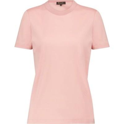 ロロピアーナ Loro Piana レディース Tシャツ トップス My-T cotton T-shirt