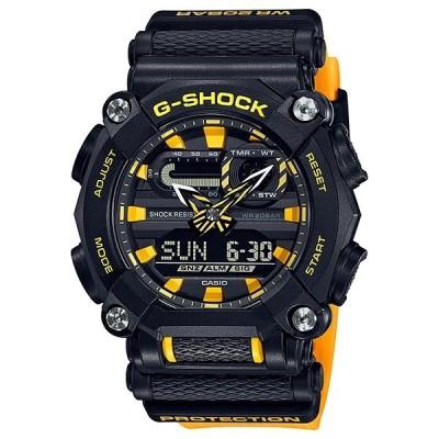 付属バンド付き タフネス 王道 デザイン Gショック カシオ メンズ レディース 腕時計 BASIC デジタル クロスバンド タフ 環境 ブラック イエロー