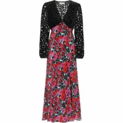 リキソ Rixo レディース ワンピース ミドル丈 ワンピース・ドレス Melanie floral silk midi dress Romantic Floral