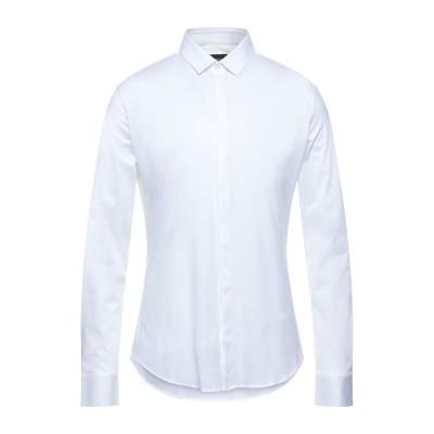 エンポリオ アルマーニ EMPORIO ARMANI シャツ ホワイト 38 コットン 100% シャツ