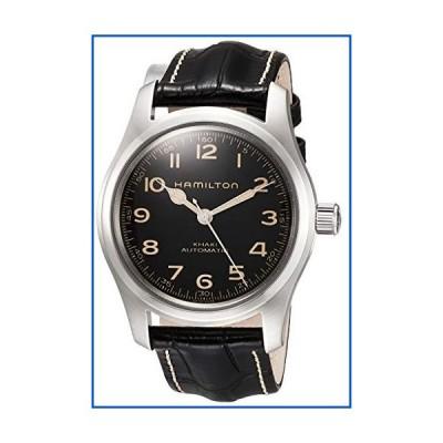 【新品】[Hamilton International Ltd.] 腕時計 ハミルトン カーキ フィールド H70605731 メンズ ブラック【並行輸